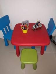 Conjunto mesa infantil