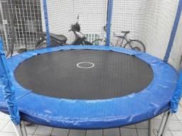 Cama Elastica 2,44m Pula Pula Trampolim Premium+ Rede