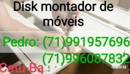 Montador de móveis e móveis planejados