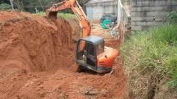 Locação de escavadeira