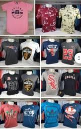 Camisetas Masculinas New Era e Outras Marcas