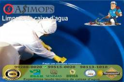 Caixas D'água e Ar. condicionado Laudos Técnicos e Certificados dedetização