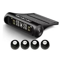 Sistema de monitoramento de pressão de pneus com sensores WiFi e carregamento solar
