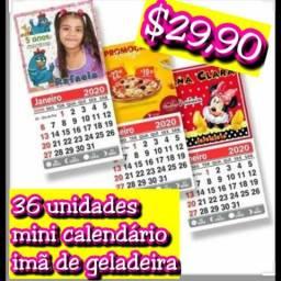 Lembraçinhas mini calendário