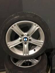 Jogo de rodas BMW aro 17 - 2014