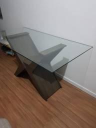 Mesa de Vidro para 6 pessoas