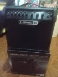 Amplificador guitarra line6 spider classic 15