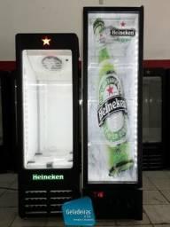 250 Litros - Cervejeira Mini Com Barra Led - 220v