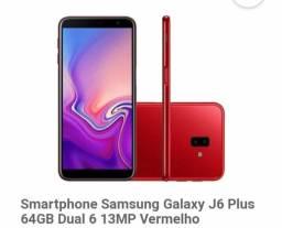 Vendo Samsung Galaxy J6 Plus Vermelho