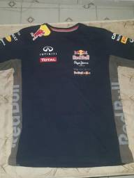 Camisa Red Bull Azul Oficial Tamanho G a513a398ef0