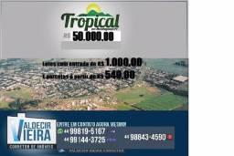 Mensais a partir de 540,00 terreno em Mandaguaçu. Agende uma visita