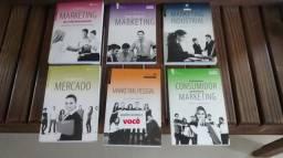 Livros de marketing, 12 livros por 30,00