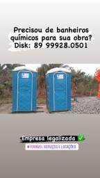 Locação de banheiros químicos