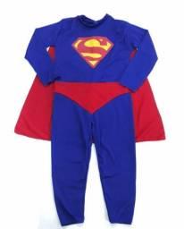 Fantasia Infantil Longa Super Man