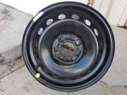 Roda de ferro para estepe Ford Ka aro 14 seminova