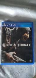 MORTAL KOMBAT X semi novo na caixa PS4