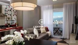 Apartamento com 2 dormitórios à venda, 64 m²- Barreiros - São José/SC