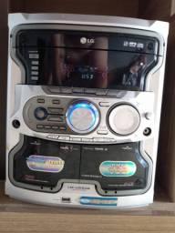 Som LG + Bluetooth + KIT Convesor Áudio Digital para RCA.