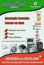 Conserto máquina de lavar, fogões e forninho elétrico Fone whats abaixo