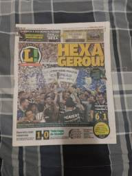 Corinthians. 2015. Hexa Campeão. Lance nº 6567. Hexa gerou!