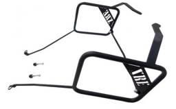 Afastador De Alforges Honda XRE 300 Preto Fosco CHAPAM