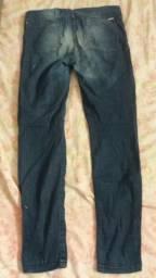 Calças jeans masculina e feminina n° 42