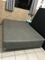 Base cama box casal normal