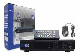 Kit dvr luatek+3 câmeras hd+hd500gb