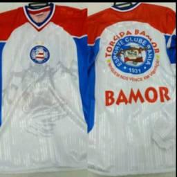 Camisa Torcida Organizada Bamor Bahia anos 90