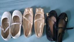 Sapatos e vestido