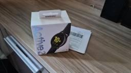 Samsung Galaxy Watch Active 2 - lacrado, garantia e nota
