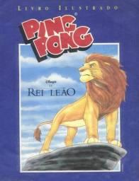 Albuns ping pong Rei leão Records Guinness + revistas de games antigas
