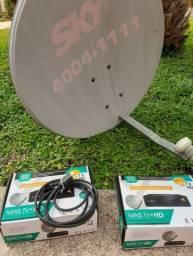 Antena e receptores Oi TV