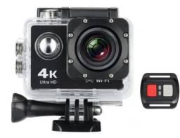 Câmera Sport ação Wifi com controle