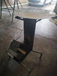 Churrasqueira fogareiro disco de arado