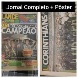 Corinthians. 2003. Lance nº 1963. 25 vezes Campeão. Bodas do Timão<br><br>