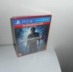 Uncharted 4 A Thief´s End Ps4 Mídia Física Novo Lacrado