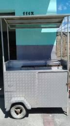 Churrasco (carrinho de alumínio - churrasquinho)