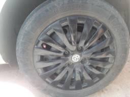 Troco roda de ferro r15 em rodas de liga leve r15