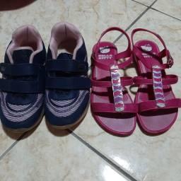 Tenis kids Confort e sandalia kily 32