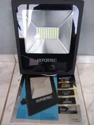 Refletor LED 50W 220V Luz Branca - Ecoline