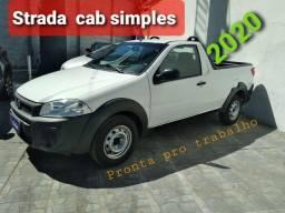 Título do anúncio: Strada Working 1.4  2020 Cab simples.
