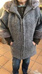 Lindo casaco em lã G