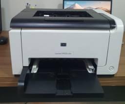 Impressora HP CP1025 Color Laserjet Super Conservada Com Toner