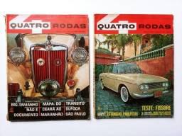Promoção 2 Quatro Rodas 1964 - Nº44 E Nº49 - Dkw Fissore, Nordeste