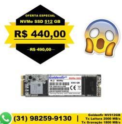 NVMe PCIe M2 SSD 512gb - Goldenfir