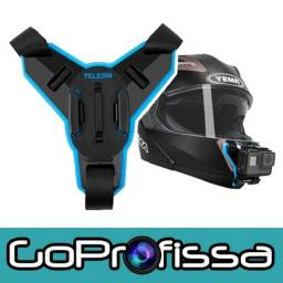 Suporte Frontal para Capacete GoPro Original - Acessórios para GoPro e câmeras
