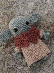 Título do anúncio: Amigurumi baby yoda Star Wars personagem