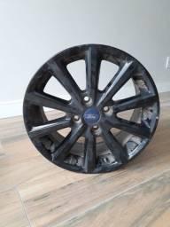 Usado - jogo de rodas 16'' originais New Fiesta SE Style 2018