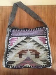 Bolsa de ombro peruana - nunca usada